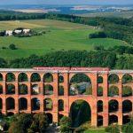 Гёльчтальбрюкке или самый большой кирпичный железнодорожный мост в мире
