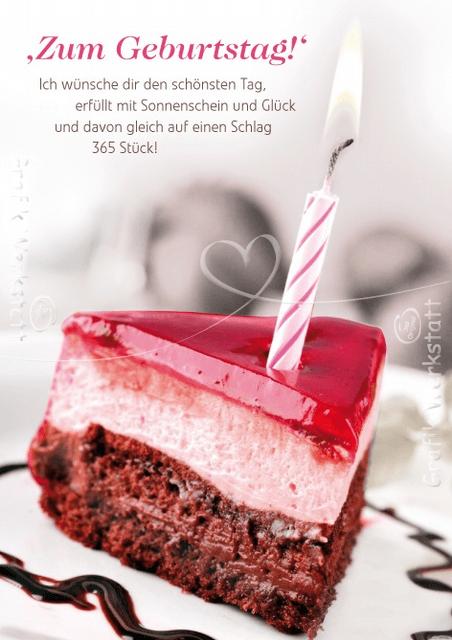 Немецкое поздравление с днем рождения