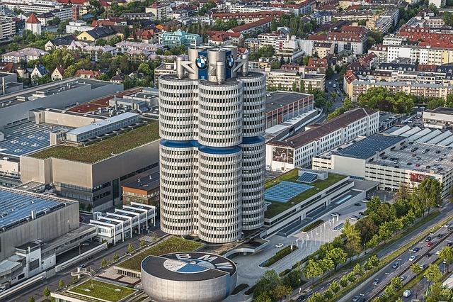 Музей BMW в Мюнхене - самый известный музей Германии