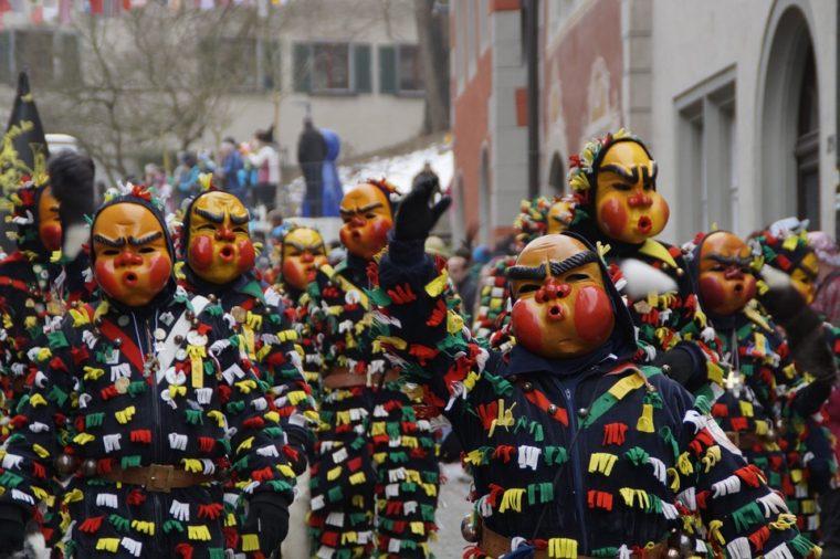 Карнавал - музыка, веселье и танцы. Праздник для всех!