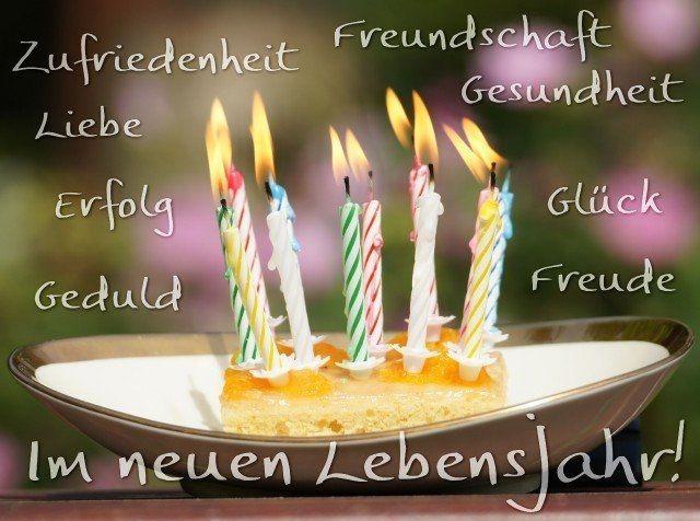 Поздравления с Днем Рождения на немецком языке