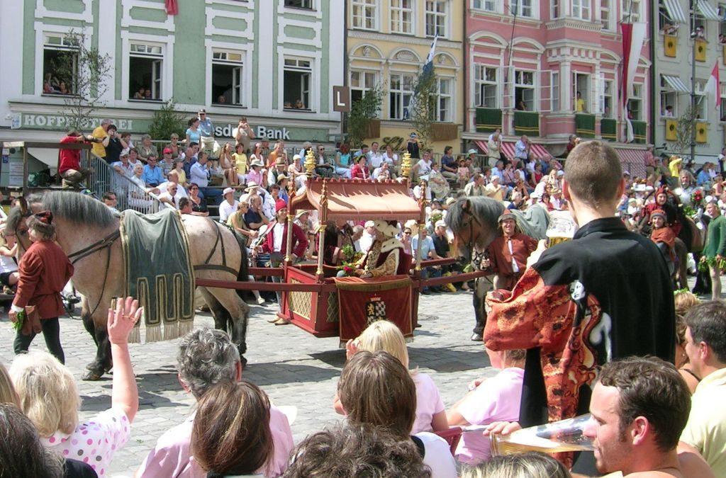 Праздники в Германии в июле (Часть 1) - Ландсхутская свадьба
