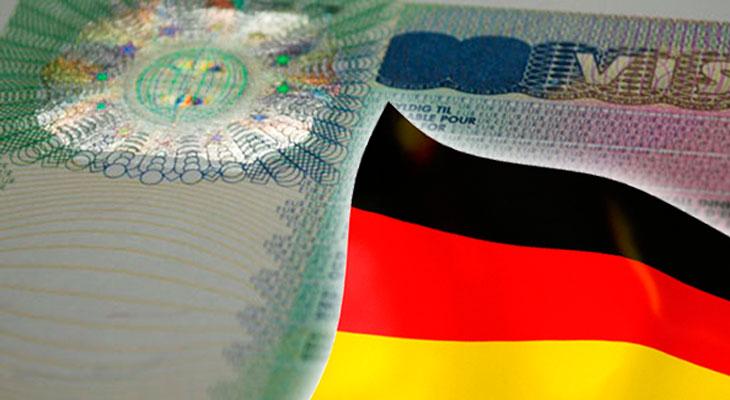 Получение визы в Германию